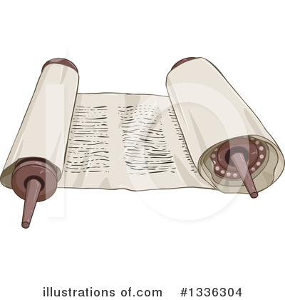 Bible Clipart #1336304 by Liron Peer