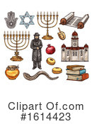 Judaism Clipart #1614423 by Vector Tradition SM