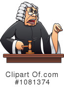 Judge Clipart #1081374 by Vector Tradition SM
