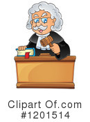 Judge Clipart #1201514 by visekart