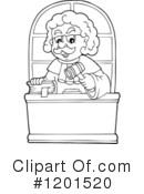 Judge Clipart #1201520 by visekart