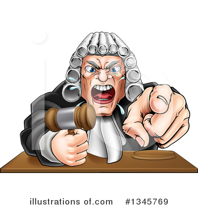 Justice Clipart #1345769 by AtStockIllustration