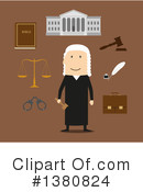 Judge Clipart #1380824 by Vector Tradition SM