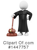 Judge Clipart #1447757 by Texelart