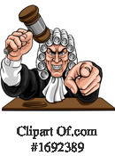 Judge Clipart #1692389 by AtStockIllustration