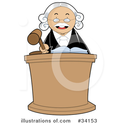 Judge Clipart #34153 by YUHAIZAN YUNUS