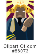 Judge Clipart #86073