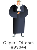 Judge Clipart #99044