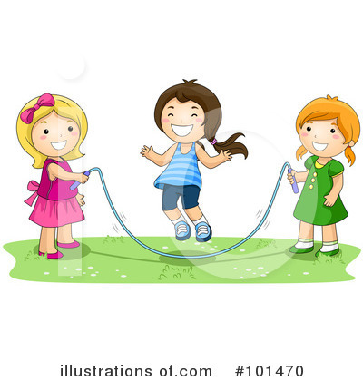 Jumping Rope Clipart #101470 by BNP Design Studio