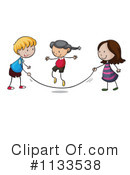 Jump Rope Clipart #1133538 by Graphics RF