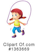 Jump Rope Clipart #1363669 by Graphics RF