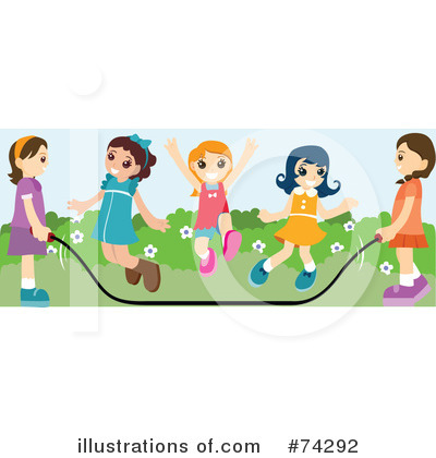Jump Rope Clipart #74292 by BNP Design Studio