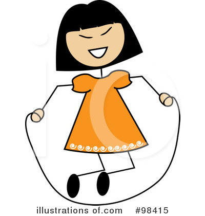 Jumping Rope Clipart #98415 by Pams Clipart