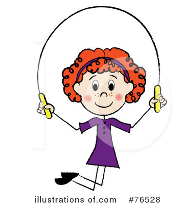 Jumping Rope Clipart #76528 by Pams Clipart