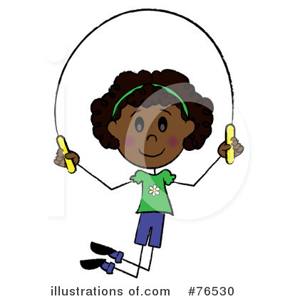 Jumping Rope Clipart #76530 by Pams Clipart