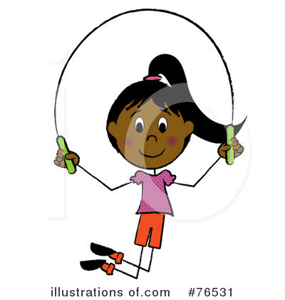Jumping Rope Clipart #76531 by Pams Clipart