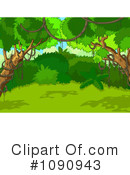 Royalty-Free (RF) Jungle Clipart Illustration #1090943