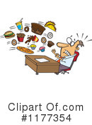 Junk Food Clipart #1177354 by toonaday
