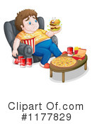 Royalty-Free (RF) Junk Food Clipart Illustration #1177829