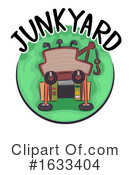 Junk Yard Clipart #1633404 by BNP Design Studio