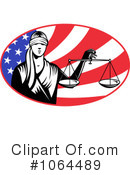 Royalty-Free (RF) Justice Clipart Illustration #1064489