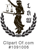 Justice Clipart #1091006 by pauloribau
