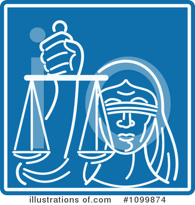 Lady Justice Clipart #1099874 by patrimonio