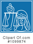 Justice Clipart #1099874 by patrimonio