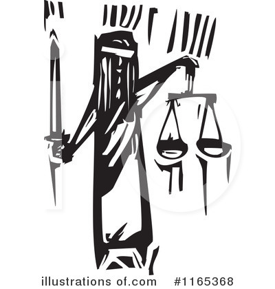 Royalty-Free (RF) Justice Clipart Illustration by xunantunich - Stock Sample #1165368