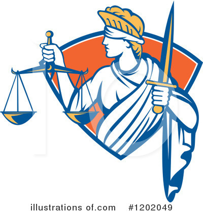 Justice Clipart #1202049 by patrimonio