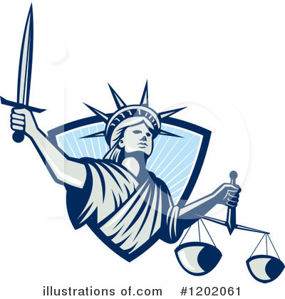 Justice Clipart #1202061 by patrimonio