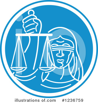 Justice Clipart #1236759 by patrimonio