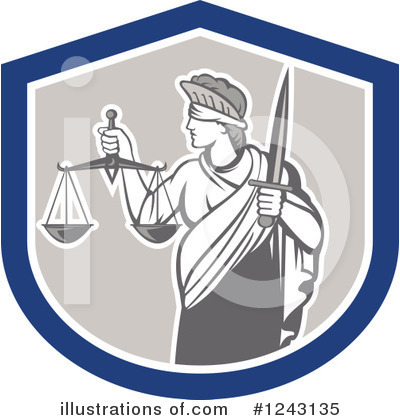 Justice Clipart #1243135 by patrimonio