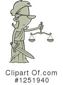 Justice Clipart #1251940 by toonaday