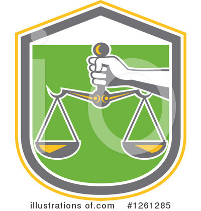 Justice Clipart #1261285 by patrimonio