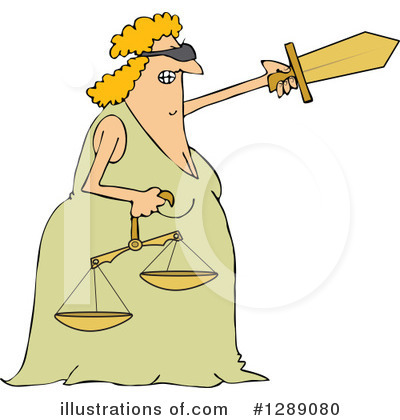 Scales Of Justice Clipart #1289080 by djart