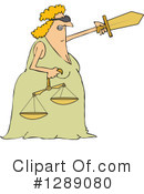 Royalty-Free (RF) Justice Clipart Illustration #1289080