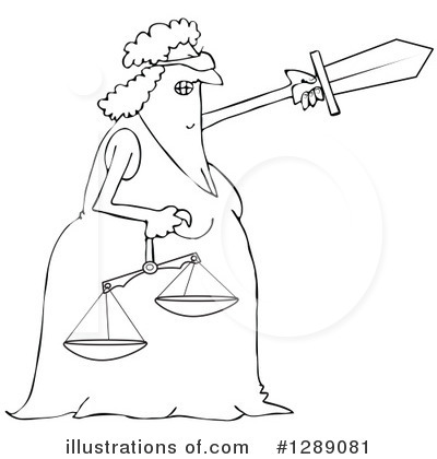 Justice Clipart #1289081 by djart