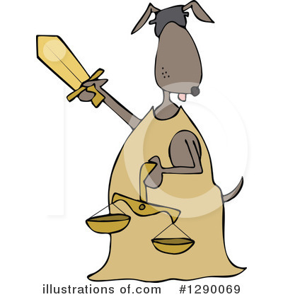 Scales Of Justice Clipart #1290069 by djart