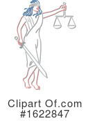 Justice Clipart #1622847 by patrimonio