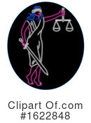 Justice Clipart #1622848 by patrimonio