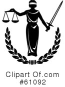 Justice Clipart #61092 by pauloribau