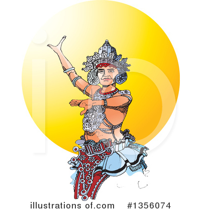 Sri Lanka Clipart #1356074 by Lal Perera