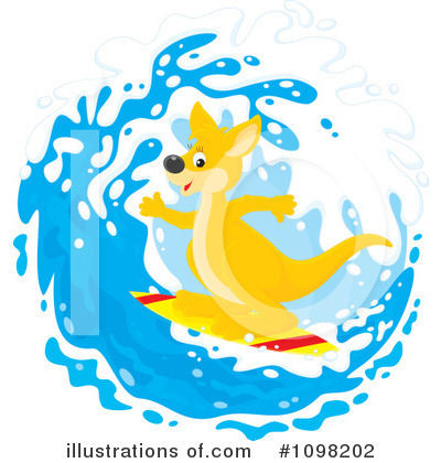 Surfer Clipart #1098202 by Alex Bannykh