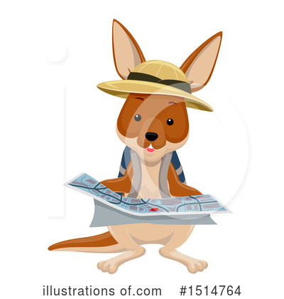 Kangaroo Clipart #1514764 by BNP Design Studio