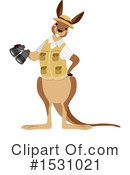 Kangaroo Clipart #1531021 by BNP Design Studio