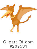 Royalty-Free (RF) Kangaroo Clipart Illustration #209531