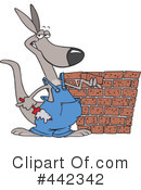 Kangaroo Clipart #442342 by toonaday