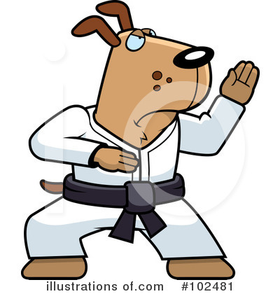 Karate Clipart #102481 by Cory Thoman