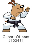 Royalty-Free (RF) Karate Clipart Illustration #102481